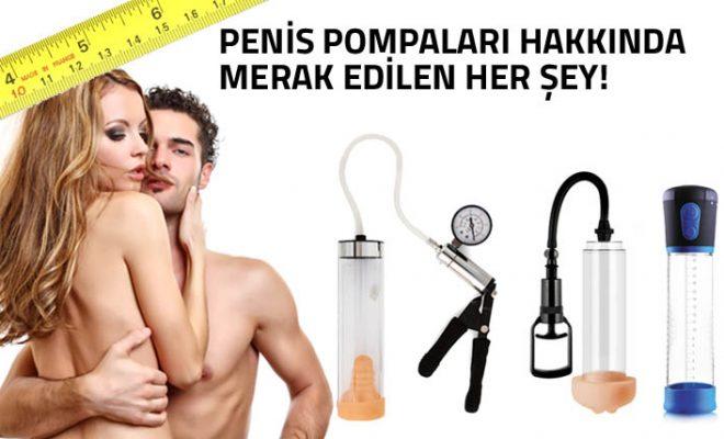 Penis pompaları hakkında her şey